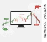 trading strategy vector...   Shutterstock .eps vector #792256525