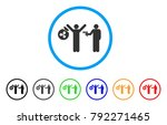 ripple thief arrest rounded... | Shutterstock .eps vector #792271465