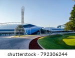 doha  qatar   january 12  the... | Shutterstock . vector #792306244