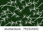 leaves pattern. bamboo leaves....   Shutterstock .eps vector #792314341