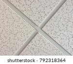 office ceiling tiles four... | Shutterstock . vector #792318364