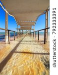 panorama of ein bokek with... | Shutterstock . vector #792333391