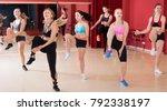 positive active females funk... | Shutterstock . vector #792338197
