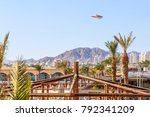 panorama of eilat  south of... | Shutterstock . vector #792341209