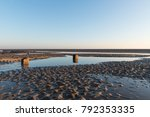 beautiful sunny winters day on... | Shutterstock . vector #792353335