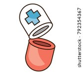 pill icon image | Shutterstock .eps vector #792354367