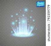 magic portal of fantasy.... | Shutterstock .eps vector #792359779