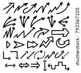 illustration of grunge sketch... | Shutterstock .eps vector #792367105
