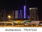 Metro Station And Jumeirah Lake ...