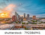 tampa  florida  usa downtown... | Shutterstock . vector #792386941