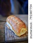 garlic bread  snacks  sydney ... | Shutterstock . vector #792387754
