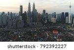 kuala lumpur  circa january...   Shutterstock . vector #792392227