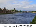 Inverness With The River Ness ...