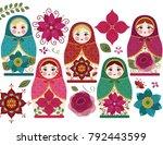 Matryoshka Dolls   Traditional...