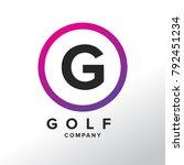 Initial Letter G Logo Design...