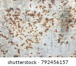 old rusty iron dirty wallpaper. ... | Shutterstock . vector #792456157