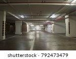 underground parking lot interior | Shutterstock . vector #792473479