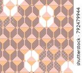 abstract pattern in vector | Shutterstock .eps vector #792479944