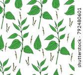 seamless floral vector pattern  ... | Shutterstock .eps vector #792480601