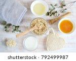 natural ingredients for... | Shutterstock . vector #792499987