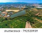 industrial estate land... | Shutterstock . vector #792520939