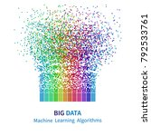 big data machine learning... | Shutterstock .eps vector #792533761