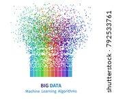 big data machine learning... | Shutterstock .eps vector #792533761