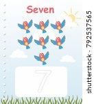 printable worksheet for... | Shutterstock .eps vector #792537565