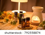 aromatherapy treatment at... | Shutterstock . vector #792558874