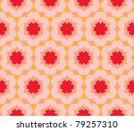 pattern with large brightly...