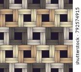 ethnic boho seamless pattern.... | Shutterstock .eps vector #792574915