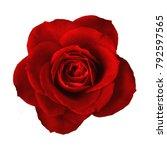 romance valentine red rose... | Shutterstock . vector #792597565