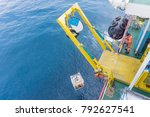 offshore worker standing on...   Shutterstock . vector #792627541