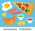 vector illustration. a set of...   Shutterstock .eps vector #792634501