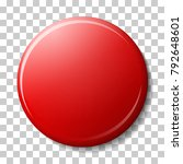 red magnet with shadow and... | Shutterstock .eps vector #792648601