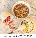 bean soup beans | Shutterstock . vector #792652909