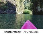 kayaking at ao tha len  krabi ... | Shutterstock . vector #792703801