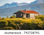 beautiful landscape of norway.... | Shutterstock . vector #792728791