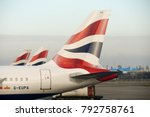 heathrow airport  london ... | Shutterstock . vector #792758761