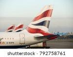 heathrow airport  london ... | Shutterstock . vector #792758761