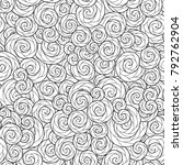 seamless wave pattern for... | Shutterstock . vector #792762904