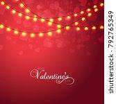 vector illustration.valentine's ...   Shutterstock .eps vector #792765349