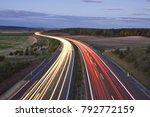 evening highway  night highway
