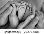 the legs of the child in the... | Shutterstock . vector #792784801