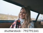 getting away from it all...... | Shutterstock . vector #792791161