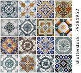 Stock photo lisbon tiles 79281952