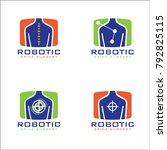 spine logo concept 2 | Shutterstock .eps vector #792825115