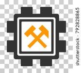hammers mining pool vector... | Shutterstock .eps vector #792828865