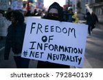 Protestors Advocating For Net...
