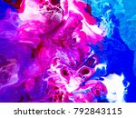 colorful creative abstract hand ... | Shutterstock . vector #792843115